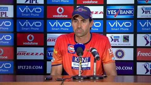 M53: RPS vs KXIP – Press Conference – Stephen Fleming