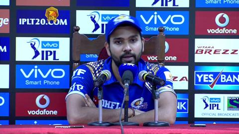 M54: GL vs MI – Press Conference – Rohit Sharma