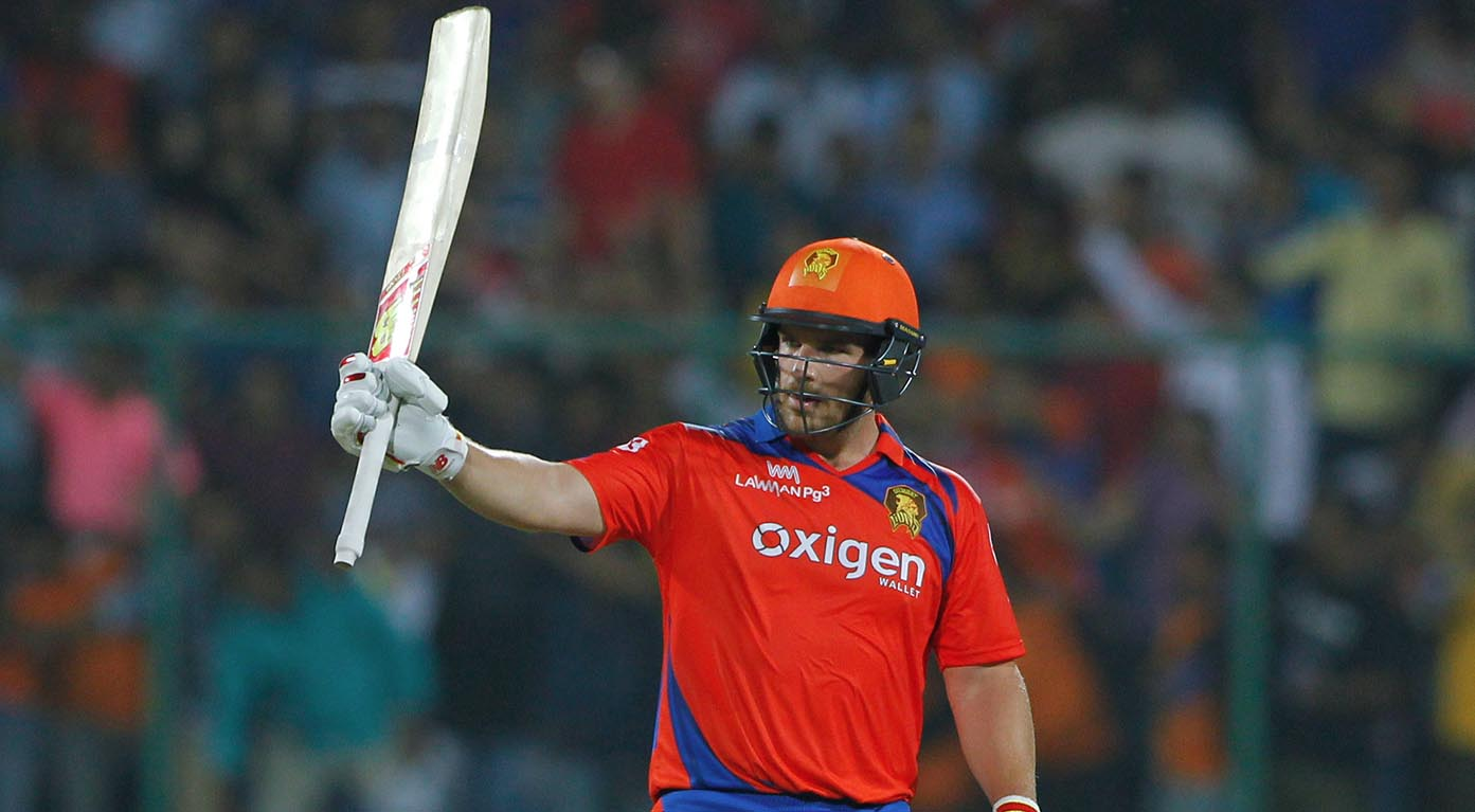 M59: GL vs SRH – Aaron Finch Interview