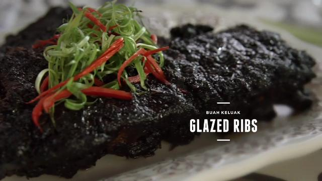 Ep 3: (Recipe Video) Buah Keluak Glazed Ribs | Cooking For Love