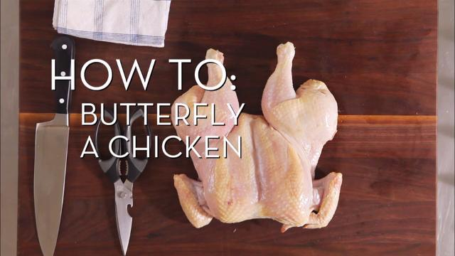 Butterfly a Chicken | Cooking How To