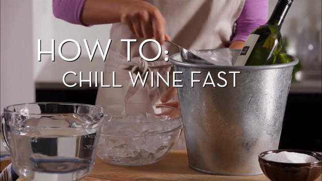 Chill Wine Fast | Cooking How To