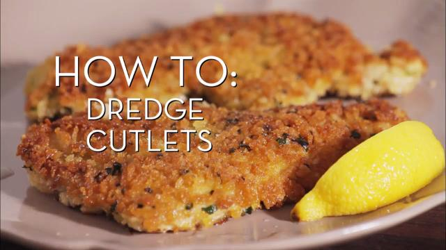 Dredge Cutlets | Cooking How To