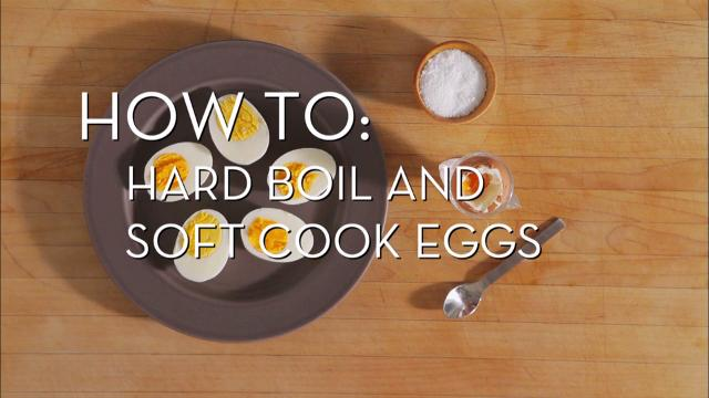 Eggs 101 - Hard and Soft Boiled | Cooking How To