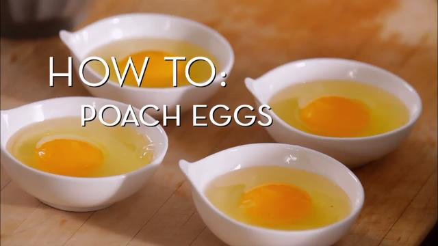 Eggs 101 - Poached | Cooking How To