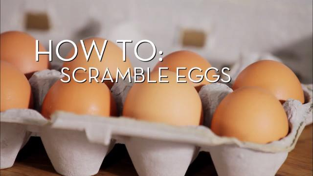 Eggs 101 - Scrambled | Cooking How To