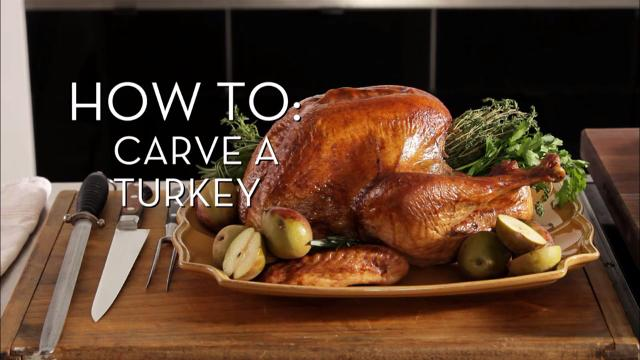 Carving a Turkey | Cooking How To
