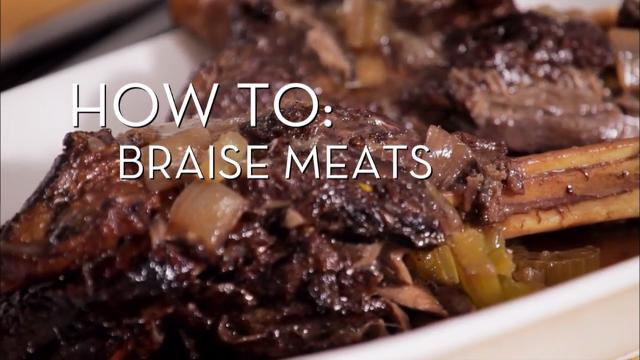 How to Braise Meats | Cooking How To