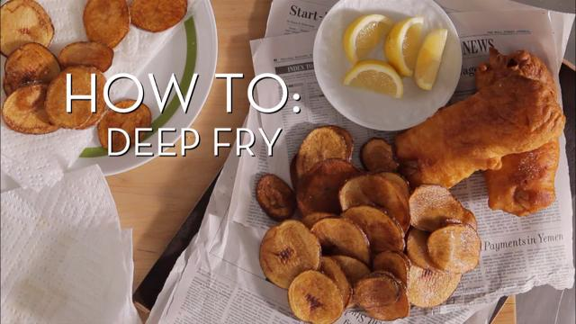 Deep Fry  | Cooking How To