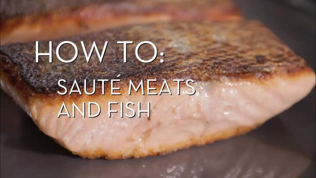 Saute Meats and Fish | Cooking How To