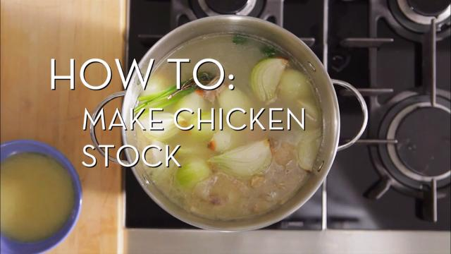 Make Chicken Stock | Cooking How To