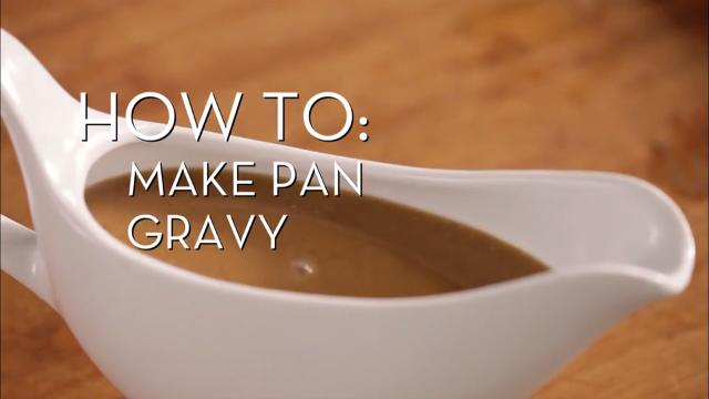 Making Pan Gravy | Cooking How To