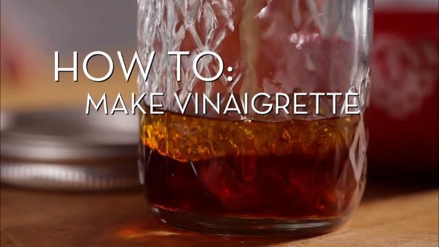 Making Vinegrette | Cooking How To