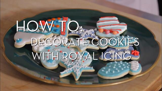 Decorate Cookies | Cooking How To