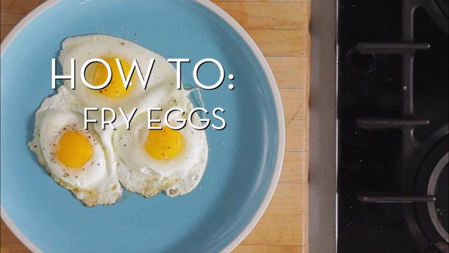 Eggs 101 - Fry Eggs | Cooking How To