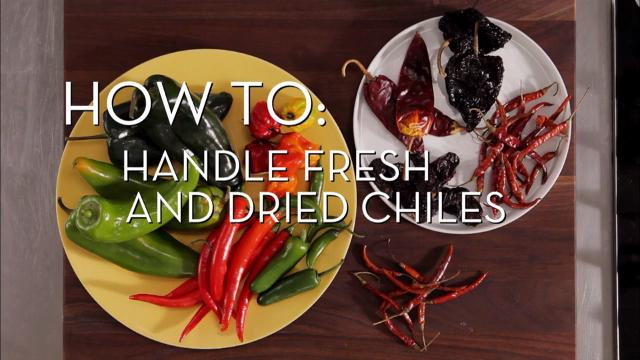 Handle Fresh and Dried Chiles | Cooking How To