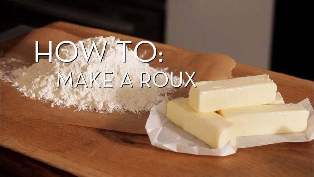 Make a Roux | Cooking How To
