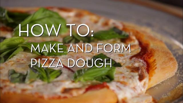 Make and Form Pizza Dough | Cooking How To