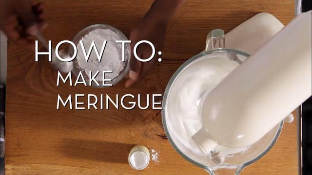 Make Meringue | Cooking How To