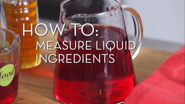 Measure Liquid Ingredients | Cooking How To