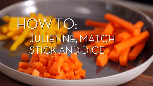 Julienning and Dicing | Cooking How To