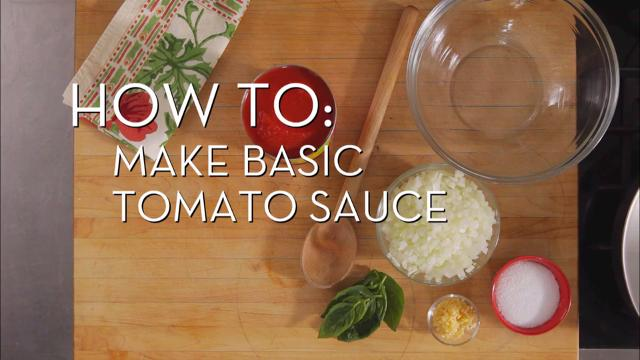 Make Basic Tomato Sauce | Cooking How To
