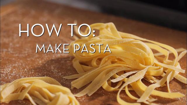 Making Fresh Pasta | Cooking How To