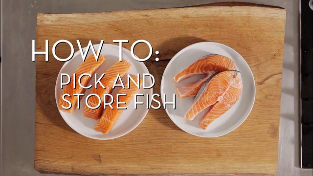 Picking and Storing Fish | Cooking How To