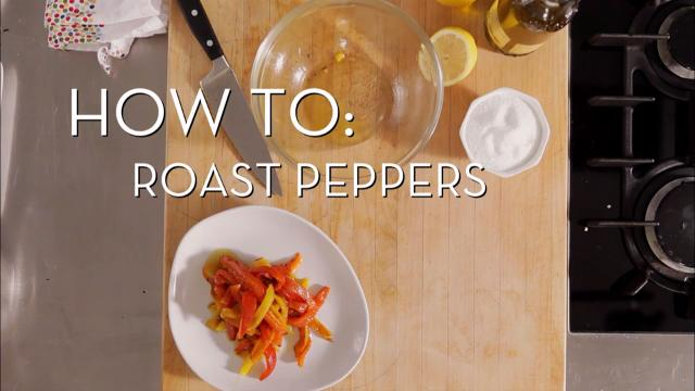 Roasting Peppers | Cooking How To