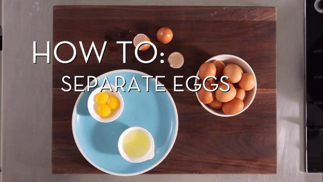 Eggs 101: Separate Eggs | Cooking How To