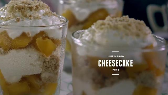 Ep 6: (Recipe Video) Lime Mango Cheesecake Pots | Cooking For Love