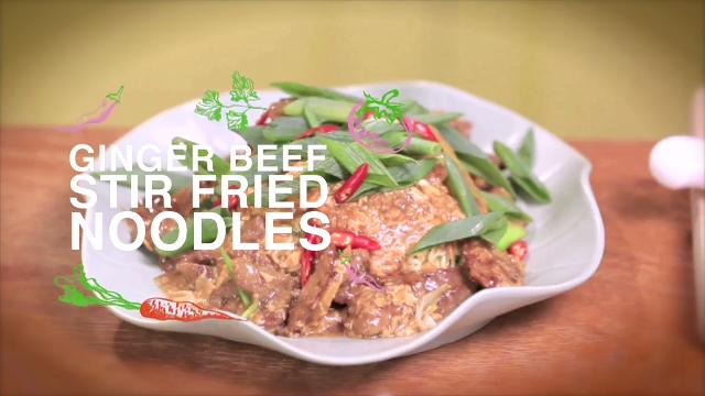 Ep 2: Ginger Beef Stir Fried Noodles | Home Cooked: Malaysia