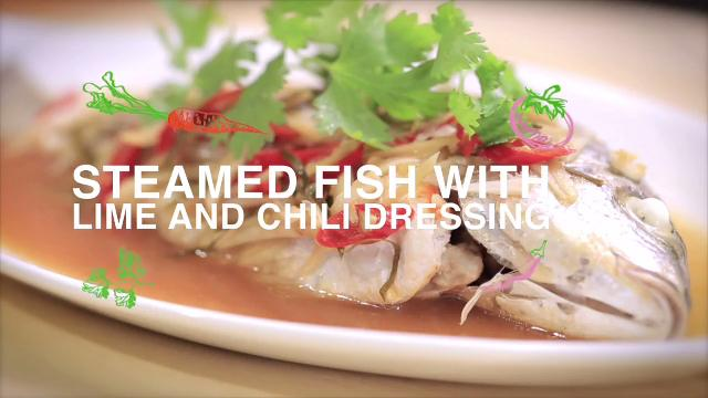 Ep 7: Steamed Fish with Lime and Chili Dressing | Home Cooked: Malaysia