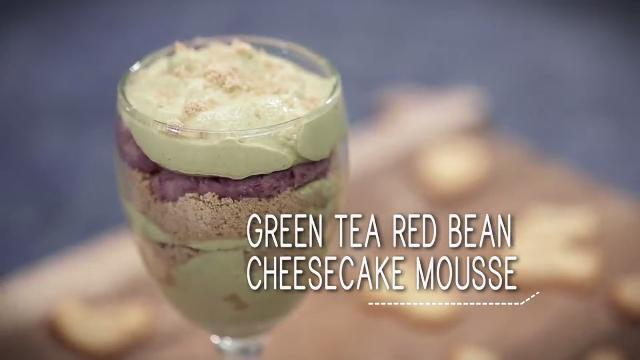 Ep 37: Green Tea Red Bean Cheesecake Mousse | Simply Special