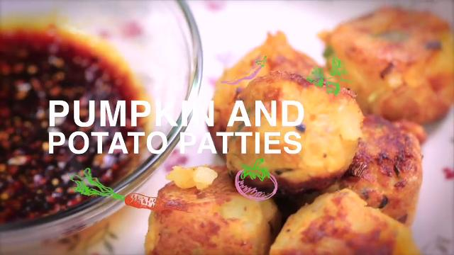 Ep 8: Pumpkin and Potato Patties | Home Cooked: Malaysia