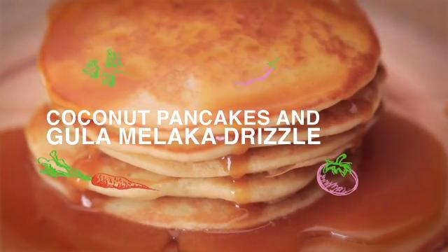 Ep 10: Coconut Pancakes and Gula Melaka Drizzle | Home Cooked: Malaysia