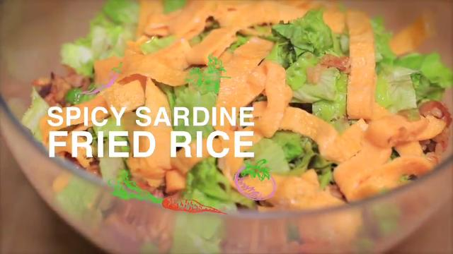 Ep 11: Spicy Sardine Fried Rice | Home Cooked: Malaysia