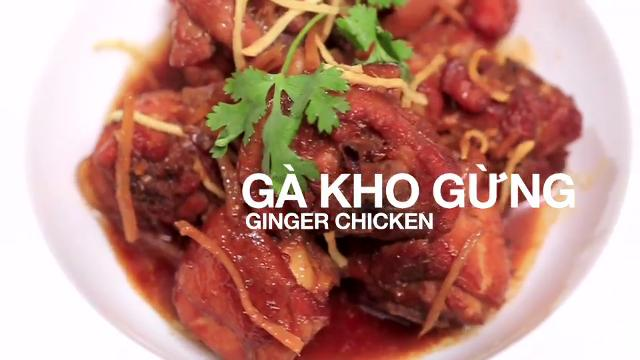 Ep 1: Ginger Chicken   Home Cooked: Vietnam