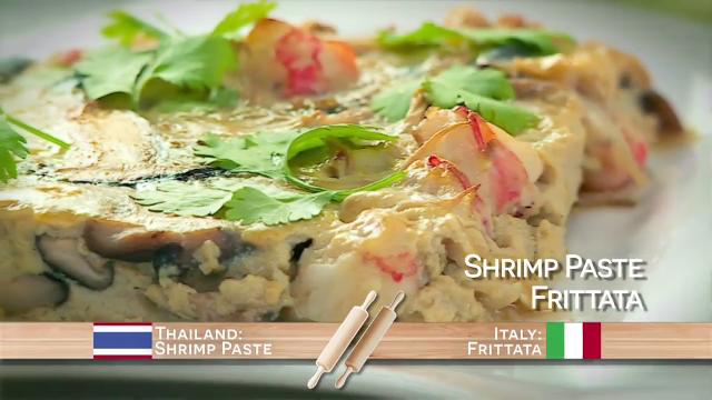 Ep 26: Shrimp Paste Frittata | Food Flip