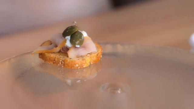 Giada In Italy - Crostini with Smoked Whitefish