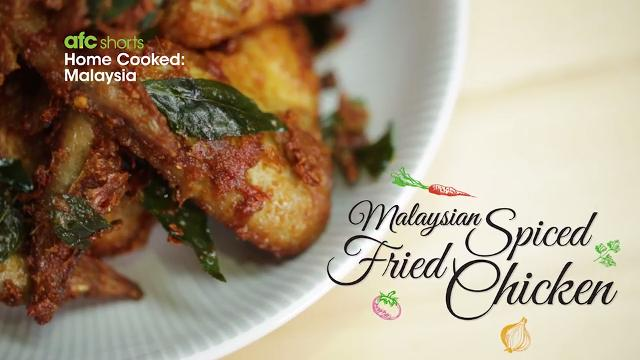 Malaysian Spiced Fried Chicken | Home Cooked: Malaysia