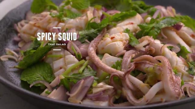 Spicy Squid Thai Salad | Cooking For Love (S2)