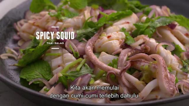 Salad Thailand Cumi-cumi Pedas | Cooking For Love (S2)