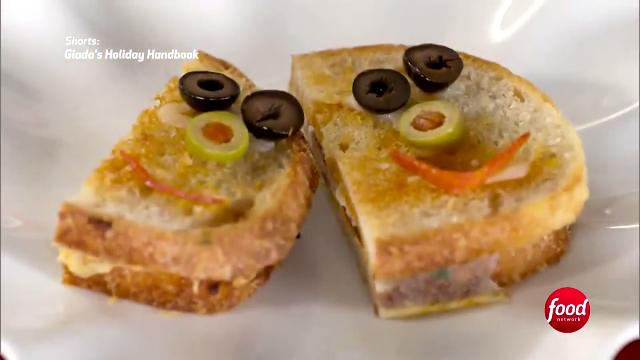 Pizza Grilled Cheese | Giada's Holiday Handbook