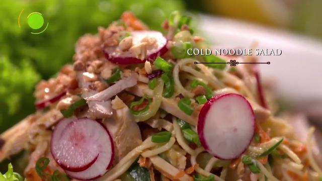 Cold Noodle Salad | Martin Yan's Asian Favorites