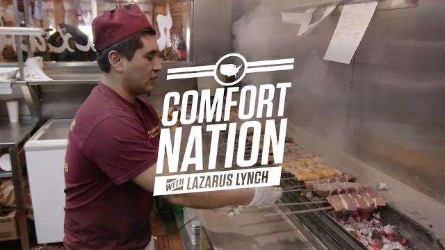 Comfort Nation with Lazarus Lynch - Nargis Cafe