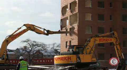 Next phase of Brewster-Douglass demolition begins
