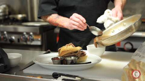 Video: Dipping into Craft Work's specialty sandwich