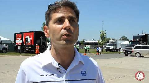 Behind the scenes with ZF Group at Belle Isle Grand Prix