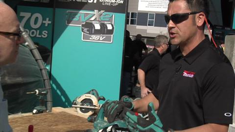 Makita Dual-Battery Cordless Saw